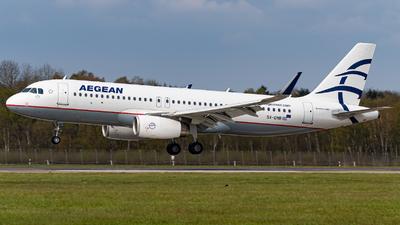 SX-DNB - Airbus A320-232 - Aegean Airlines