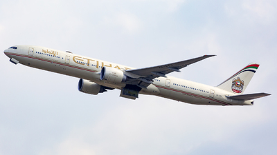 A picture of A6ETJ - Boeing 7773FX(ER) - Etihad Airways - © Thanh Ho - SFAP