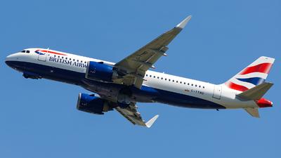 G-TTND - Airbus A320-251N - British Airways