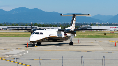 A picture of CGLWN - De Havilland Canada Dash 8300 - North Caribou Flying Service - © Nick Sheeder