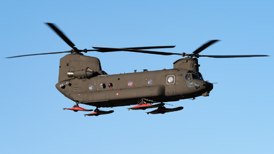 A picture of MM81781 - AgustaWestland ICH47F Chinook -  - © Varani Ennio