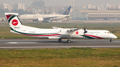 S2-AKD - Bombardier Dash 8-Q402 - Biman Bangladesh Airlines
