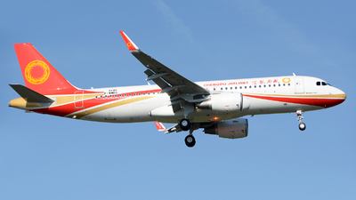 F-WWBS - Airbus A320-214 - Chengdu Airlines