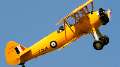 N43GK - Boeing B75N1 Stearman - Private