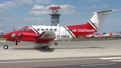 G-HMGB - Beechcraft 200 Super King Air - United Kingdom - Coast Guard