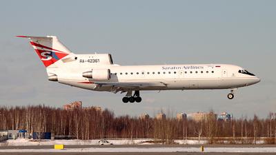 RA-42361 - Yakovlev Yak-42D - Saratov Airlines