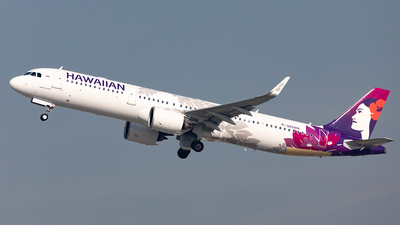 N204HA - Airbus A321-271N - Hawaiian Airlines