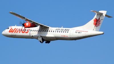PK-WFT - ATR 72-212A(500) - Wings Air