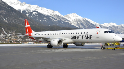 OY-GDC - Embraer 190-200LR - Great Dane Airlines