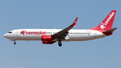 A picture of TCTJS - Boeing 73781B - Corendon Airlines - © Ömür Sadikoglu