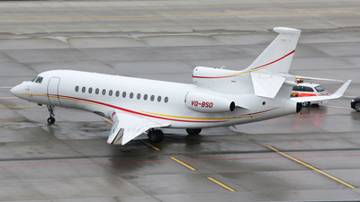 VQ-BSO - Dassault Falcon 7X - Shell Aircraft