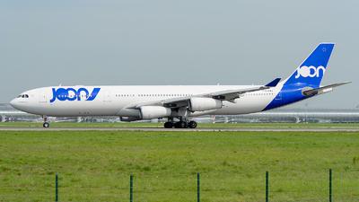F-GLZP - Airbus A340-313X - Joon