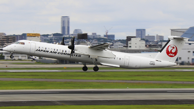 JA850C - Bombardier Dash 8-Q402 - Japan Air Commuter (JAC)