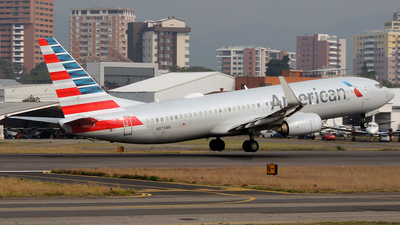 A picture of N876NN - Boeing 737823 - American Airlines - © Julio Letona