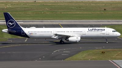 D-AIDH - Airbus A321-231 - Lufthansa