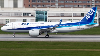 JA219A - Airbus A320-271N - All Nippon Airways (ANA)