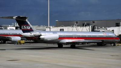 N829US - McDonnell Douglas MD-82 - USAir