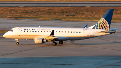 N86347 - Embraer 170-200LR - United Express (Mesa Airlines)