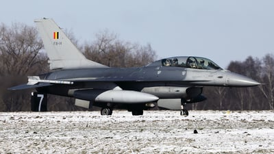 FB-14 - General Dynamics F-16BM Fighting Falcon - Belgium - Air Force