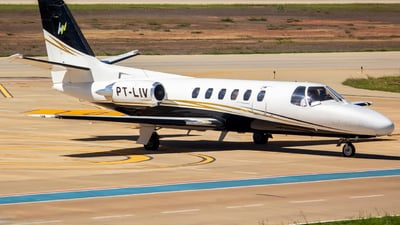 A picture of PTLIV - Cessna 550 Citation II - [5500499] - © Charles Do Vale
