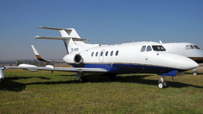 ZS-SYS - Hawker Siddeley HS-125-700B - Private