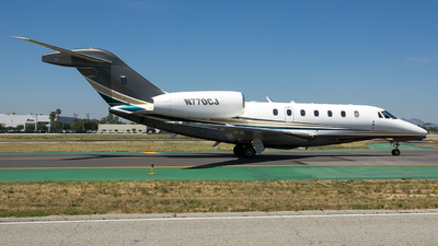N770CJ - Cessna 750 Citation X - Private