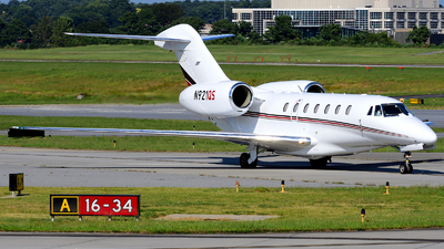 A picture of N921QS - Cessna 750 Citation X - NetJets - © Agustin Anaya