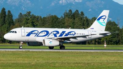 A picture of S5AAR - Airbus A319132 - Adria Airways - © Alan Ruzic