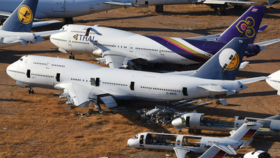 D-ABTD - Boeing 747-430(M) - Lufthansa