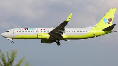 HL7786 - Boeing 737-8Q8 - Jin Air