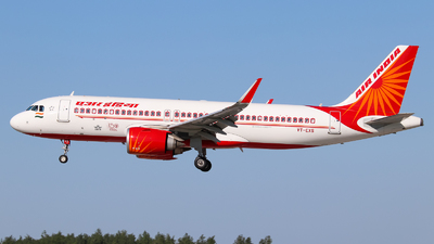 VT-EXS - Airbus A320-251N - Air India