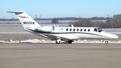 N533CM - Cessna 525 Citationjet CJ3 - Private