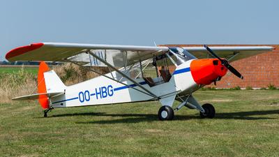 OO-HBG - Piper PA-18-95 Super Cub - Private