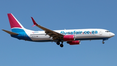 ZS-SJH - Boeing 737-8BG - FlySafair