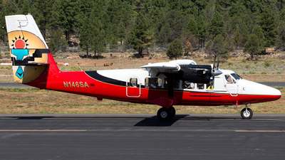 A picture of N146SA - De Havilland Canada DHC6300 Twin Otter - Grand Canyon Airlines - © Marco Papa