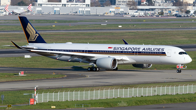 F-WZFX - Airbus A350-941 - Singapore Airlines