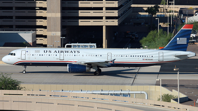 N535UW - Airbus A321-231 - US Airways