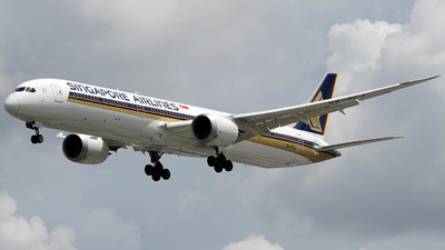 9V-SCJ - Boeing 787-10 Dreamliner - Singapore Airlines