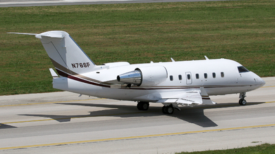 N76SF - Bombardier CL-600-2B16 Challenger 650 - Private
