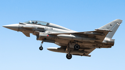 CE.16-14 - Eurofighter Typhoon EF2000(T) - Spain - Air Force