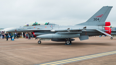 304 - General Dynamics F-16BM Fighting Falcon - Norway - Air Force