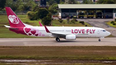 9M-LOV - Boeing 737-8HX - Love Fly (M Jets International)