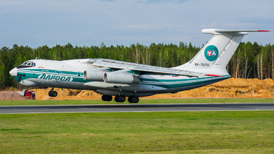RA-76373 - Ilyushin IL-76TD - Alrosa Airlines