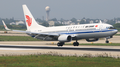 B-1419 - Boeing 737-89L - Air China