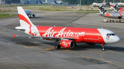 9M-AHZ - Airbus A320-216 - AirAsia