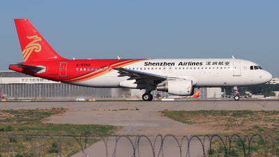 A picture of B6550 - Airbus A320214 - Shenzhen Airlines - © 5947