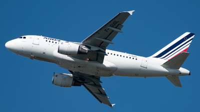 F-GUGL - Airbus A318-111 - Air France