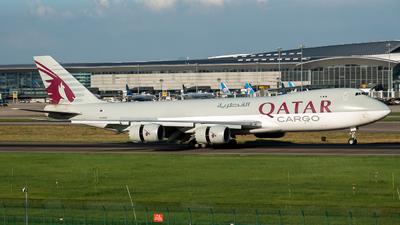A picture of A7BGB - Boeing 74783Q(F) - Qatar Airways - © Jack  Li