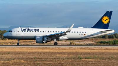 D-AIUK - Airbus A320-214 - Lufthansa