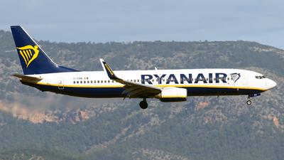 A picture of EIENA - Boeing 7378AS - Ryanair - © Javier Rodriguez - Amics de Son Sant Joan